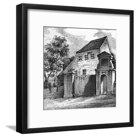 Schiller Home Gohlis--Framed Giclee Print