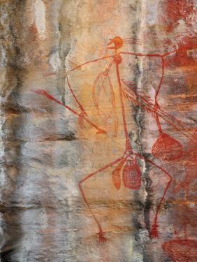Aboriginal Rock Art, Ubirr, Kakadu National Par, Northern Territory, Australia, Pacific by Schlenker Jochen