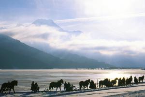 Schlitteda Celebration, Switzerland