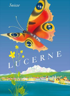 Lucerne - Suisse (Switzerland) - Butterfly by Schmidlin & Magoni