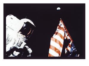 Schmitt, Flag, and Earth