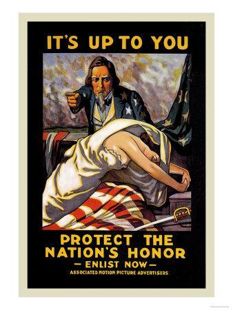 It's Up to You to Protect the Nation's Honor