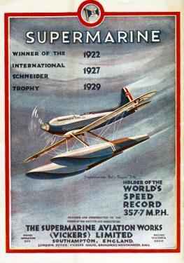 Schneider Trophy Contest Programme, c.1931