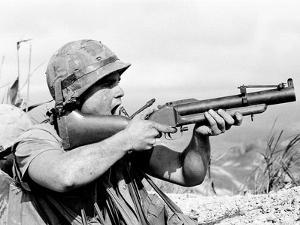 Vietnam War U.S. Marine Hill 689 by Schneider