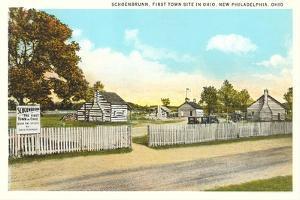Schoenbrunn, New Philadelphia