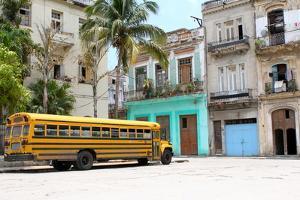 School Bus, Havana, Cuba