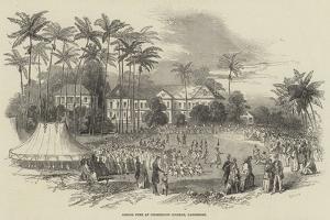 School Fete at Codrington College, Barbadoes