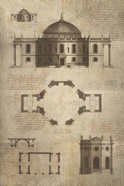 Architectural Sketch I by School of Padua