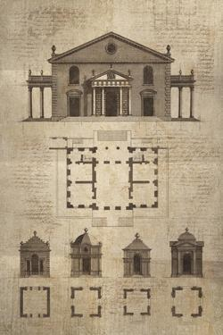 Architectural Sketch II by School of Padua