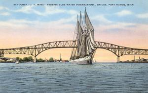 Schooner, Bridge, Port Huron, Michigan