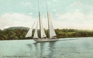 Schooner on Owasco Lake, Auburn, New York