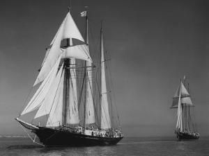 Schooners Sir Winston Churchill and Malcolm Miller