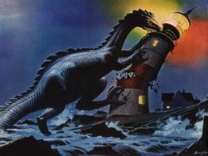 Sci Fi - Destructive Dinosaur