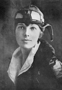 Amelia Earhart, US Aviation Pioneer by Science Business Library