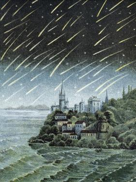 Andromedid Meteor Shower by Science Business Library
