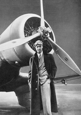 Howard Hughes, US Aviation Pioneer by Science Business Library