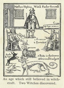 Matthew Hopkins, English Witch Hunter by Science Business Library