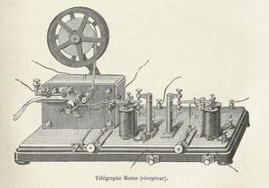 Morse's Telegraph Receiver by Science Business Library