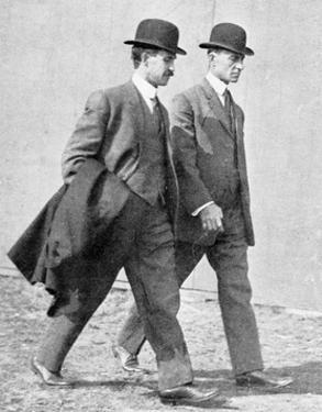 The Wright Brothers, US Aviation Pioneers by Science Business Library