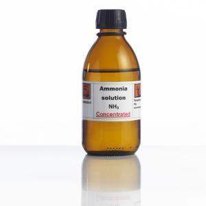 Ammonia Solution, Laboratory Bottle by Science Photo Library