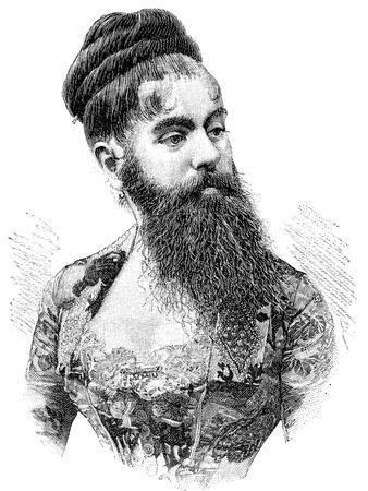 Bearded Lady, 19th Century