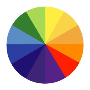 Colour Wheel by Science Photo Library