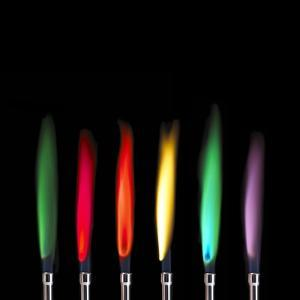 Flame Test Sequence by Science Photo Library