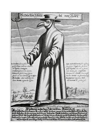 Plague Doctor, 17th Century Artwork