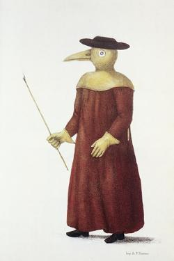Plague Doctor, 18th Century by Science Photo Library