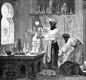 Rhazes, Islamic Scholar by Science Photo Library
