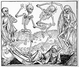 The Dance of Death, Allegorical Artwork by Science Photo Library