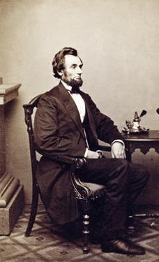 Abraham Lincoln, 16th U.S. President, 1865 by Science Source