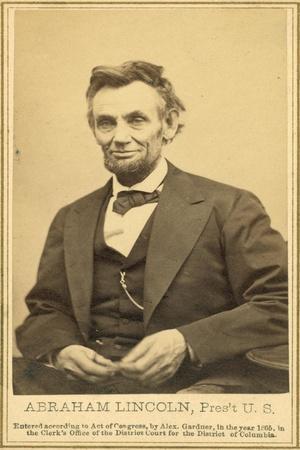 Abraham Lincoln's Last Portrait Sitting, 1865