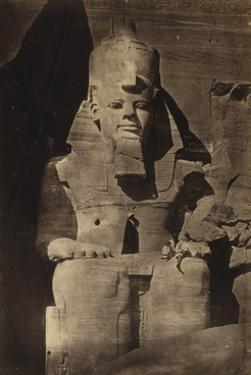 Abu Simbel Temple, 1862 by Science Source