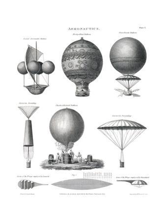 Aeronautics, 1818 by Science Source