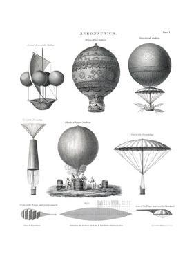 Aeronautics, 1818 by Science Source