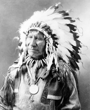 American Horse, Oglala Lakota Indian Chief by Science Source