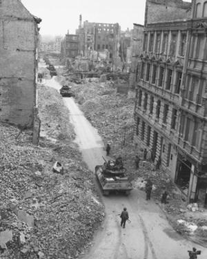 Berlin, 1945 by Science Source