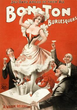 Bon Ton Burlesquers, 1898 by Science Source