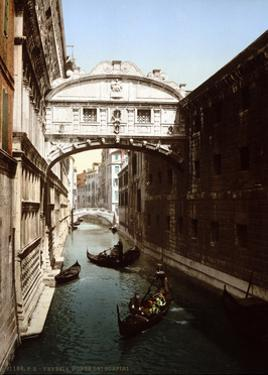 Bridge of Sighs, 1890s by Science Source