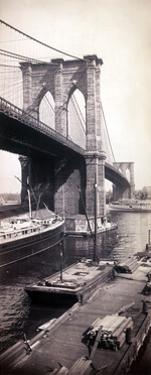Brooklyn Bridge, 1896 by Science Source