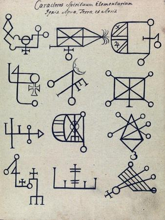 Cabbalistic Signs and Sigils, 18th Century