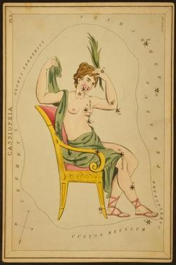 Cassiopeia Constellation, 1825 by Science Source