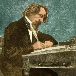 Charles Dickens, English Author by Science Source
