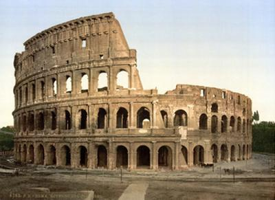 Colosseum, 1890s by Science Source