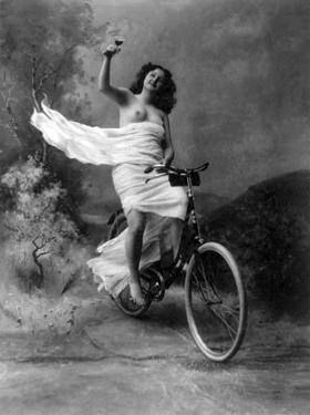 """Don't Drink and Drive"", Nude Model, 1897 by Science Source"
