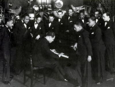 Duke Ellington and Cotton Club Orchestra, 1930 by Science Source