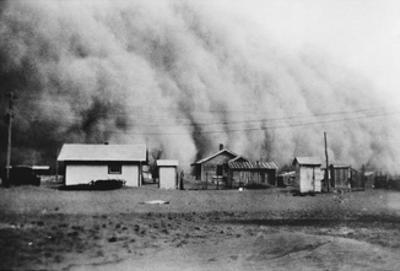 Dust Storm, 1930s