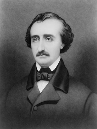 Edgar Allan Poe, American Author by Science Source