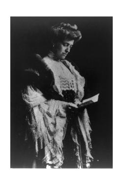 Edith Wharton, American Author by Science Source
